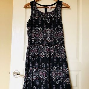 NWT Xhiliration Black Dress